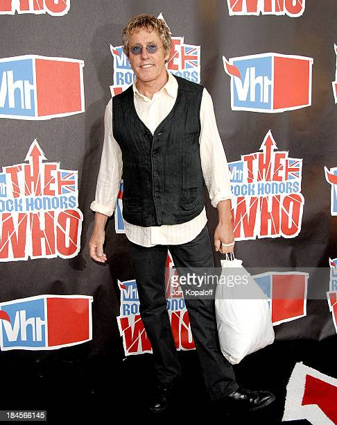 Singer Roger Daltrey of The Who arrives at the 2008 VH1 Rock Honors honoring The Who at UCLA's Pauley Pavilion on July 12 2008 in Los Angeles...