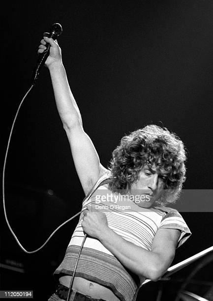 Singer Roger Daltrey of The Who at Shepperton 1978