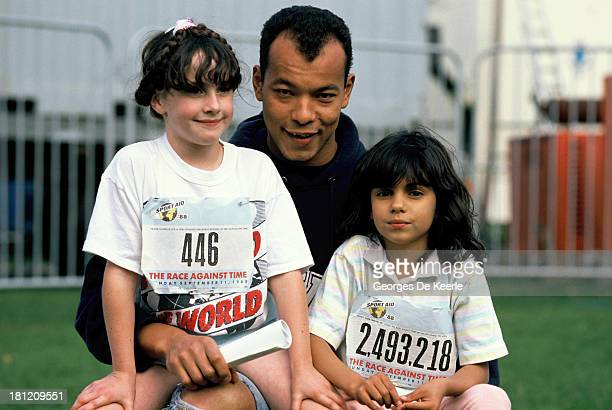 Roland gift stock photos and pictures getty images singer roland gift of the fine young cannibals at sport aid 88 concert negle Images