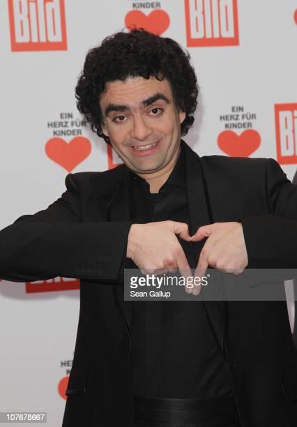 Singer Rolando Villazon attends the 'Ein Herz Fuer Kinder' charity gala at Axel Springer Haus on December 18 2010 in Berlin Germany