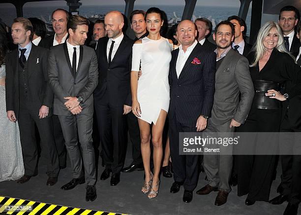 Singer Ronan Keating, actor Herbert Knaup, actor Ewan McGregor, filmmaker Marc Forster, model Adriana Lima, CEO of IWC Schaffhausen Georges Kern,...