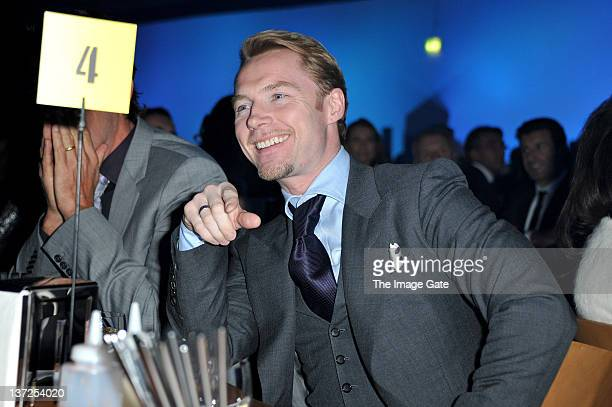 Singer Ronan Keating attends the IWC Schaffhausen Top Gun Gala Event during the 22nd SIHH High Jewellery Fair at the Palexpo Exhibition Hall on...