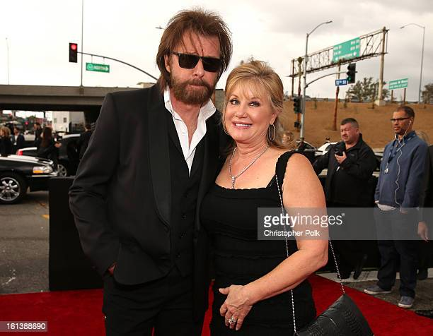 Singer Ronnie Dunn and Janine Dunn attend the 55th Annual GRAMMY Awards at STAPLES Center on February 10 2013 in Los Angeles California