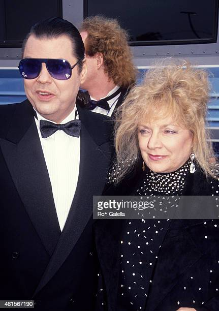 Singer Ronnie Milsap and wife Francis Joyce Reeves attend the 26th Annual Academy of Country Music Awards on April 24 1991 at Universal Amphitheatre...
