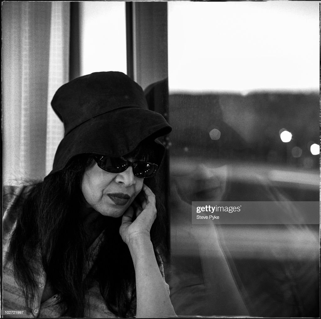 Singer Ronnie Spector poses for a portrait shoot in New York, USA.