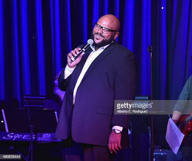 Singer Ruben Studdard attends the 2015 LA's Promise Gala at Universal Studios Hollywood on September 30 2015 in Universal City California