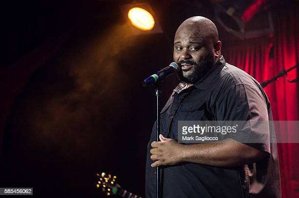 Singer Ruben Studdard performs at BB King Blues Club Grill on August 2 2016 in New York City