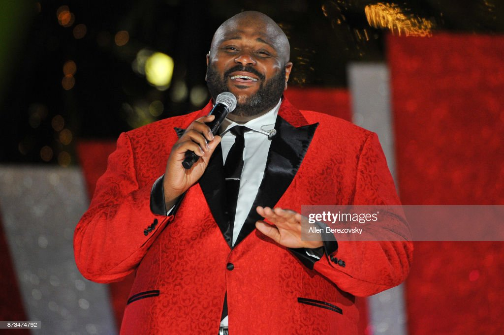Singer Ruben Studdard performs during A California Christmas at The Grove Presented by Citi on November 12, 2017 in Los Angeles, California.