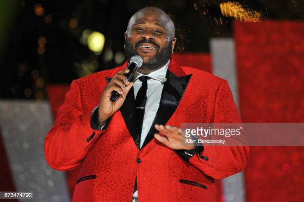 Singer Ruben Studdard performs during A California Christmas at The Grove Presented by Citi on November 12 2017 in Los Angeles California