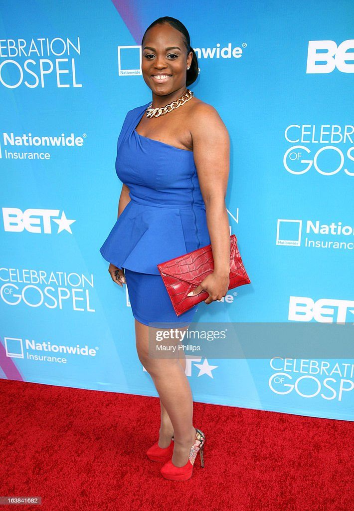 Singer Rubi Green attends the BET Celebration of Gospel 2013 at Orpheum Theatre on March 16, 2013 in Los Angeles, California.