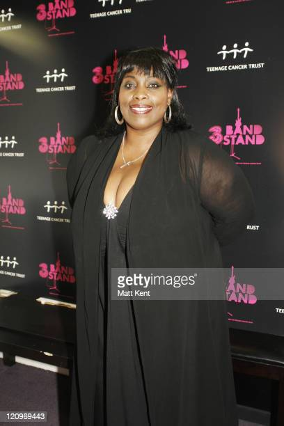 Singer Ruby Turner backstage at the Teenage Cancer Trust Bandstand 2007 at The Sage September 22 2007 in Gateshead England