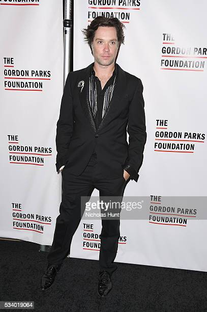 Singer Rufus Wainwright attends the 2016 Gordon Parks Foundation awards dinner at Cipriani 42nd Street on May 24 2016 in New York City