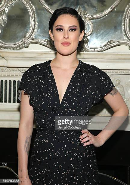 Singer Rumor Willis poses for a photo after her performance at Cafe Carlyle on April 5 2016 in New York City
