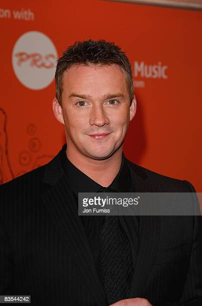 Singer Russell Watson arrives at the Music Industry Trusts' Awards held at the Grosvenor House Hotel Park Lane on November 3 2008 in London England