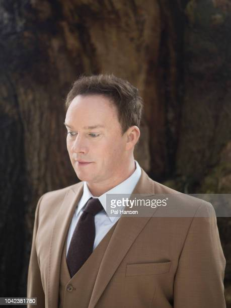Singer Russell Watson is photographed for Saga magazine on April 10 2018 near Chester England