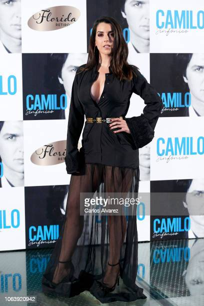 Singer Ruth Lorenzo attends Camilo Sesto's new album 'Camilo Sinfonico' presentation at the Florida Park Club on November 20 2018 in Madrid Spain