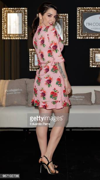 Singer Ruth Lorenzo attends the 'NH Collection Gran Via hotel' inauguration at NH Collection Gran Via hotel on May 10, 2018 in Madrid, Spain.
