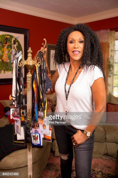 Singer Ruth Pointer is photographed for Closer Weekly Magazine on January 18 2016 at home in Massachusetts