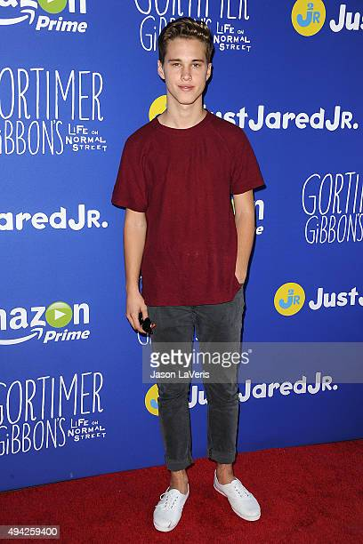 Singer Ryan Beatty attends the Just Jared fall fun day on October 24 2015 in Los Angeles California