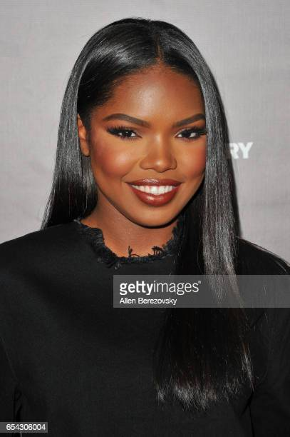 Singer Ryan Destiny attends a screening and discussion of FOX's 'Shots Fired' at Pacific Design Center on March 16 2017 in West Hollywood California