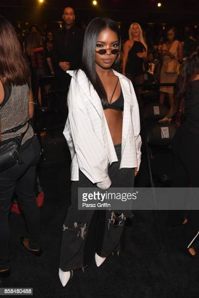 Singer Ryan Destiny attends the BET Hip Hop Awards 2017 at The Fillmore Miami Beach at the Jackie Gleason Theater on October 6 2017 in Miami Beach...