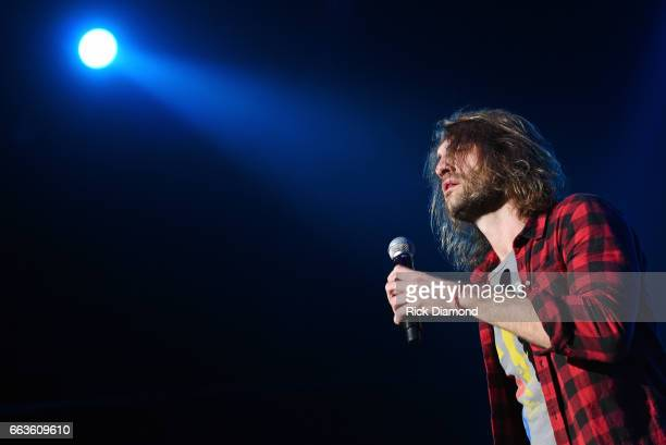 Singer Ryan Hurd performs onstage during the ACM Party For A Cause The Joint at The Joint inside the Hard Rock Hotel Casino on April 1 2017 in Las...