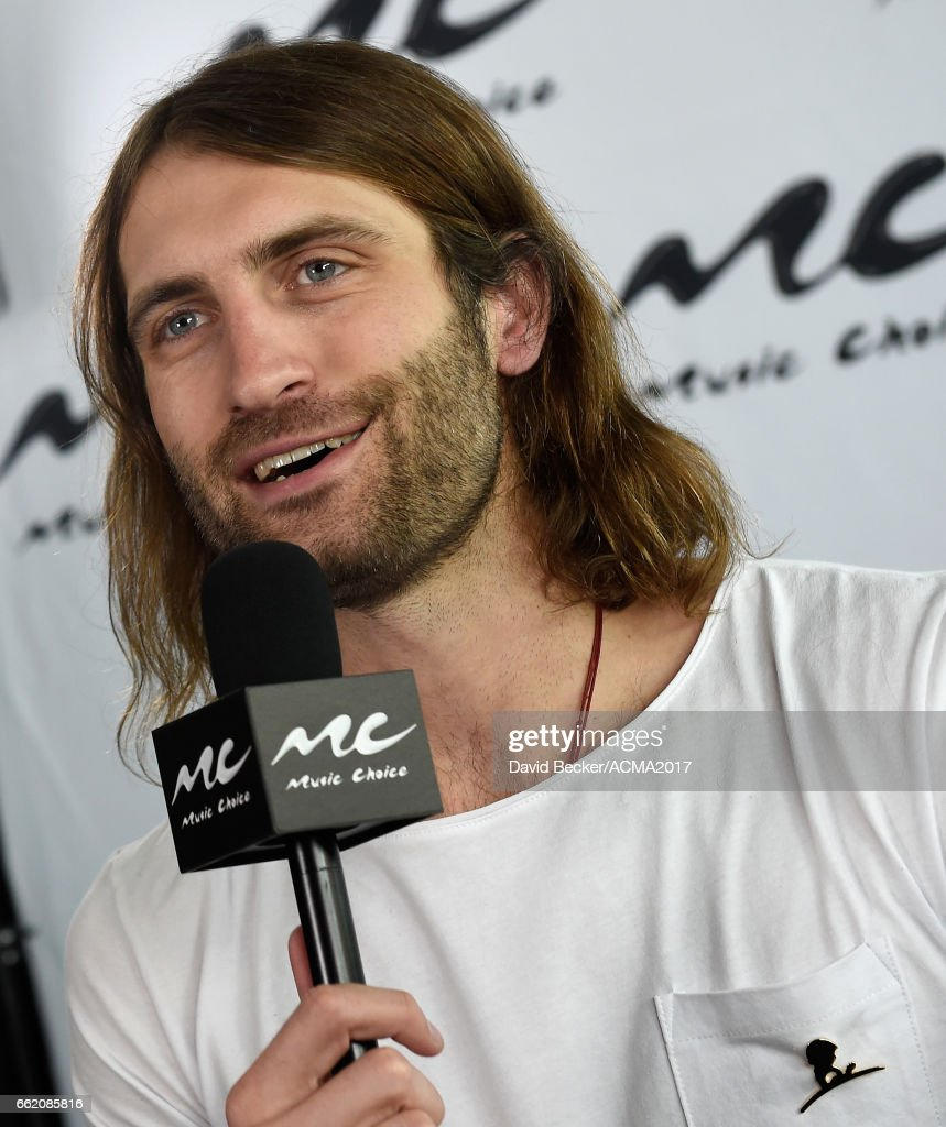 Singer Ryan Hurd speaks during the 52nd Academy Of Country Music Awards Cumulus/Westwood One Radio Remotes at T-Mobile Arena on March 31, 2017 in Las Vegas, Nevada.