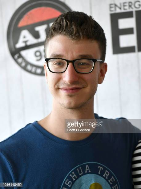 Singer Ryan Met of the band AJR attends the ALT 987 Summer Camp Concert at Queen Mary Events Park on August 12 2018 in Long Beach California