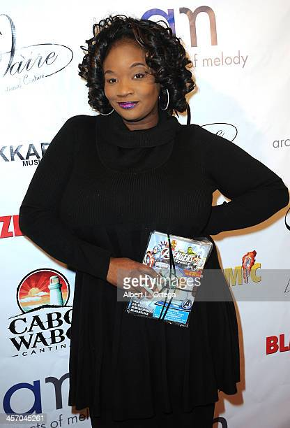 Singer Saba Jazz attends Britticares Toy Drive with a benefit concert by G Tom Mac Many Of Odd Nature in conjunction with publicist Michael Arnoldi's...