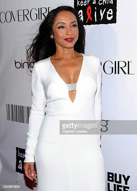 Singer Sade attends the 2010 Keep A Child Alive's Black Ball at the Hammerstein Ballroom on September 30 2010 in New York City