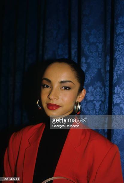 Singer Sade attends the British Record Industry Awards aka the BRIT Awards at the Grosvenor House Hotel in London on February 11 1985