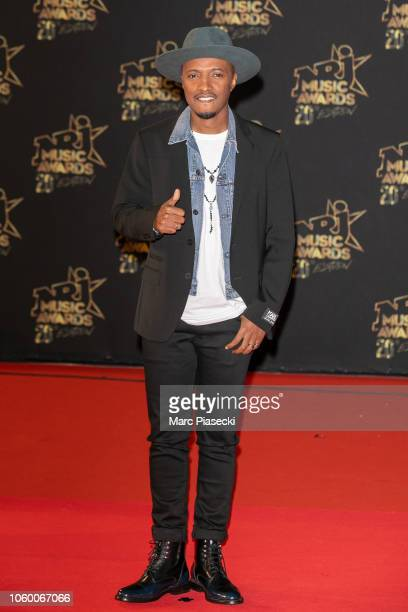 Singer Said M'Roumbaba aka Soprano attends the 20th NRJ Music Awards at Palais des Festivals on November 10 2018 in Cannes France