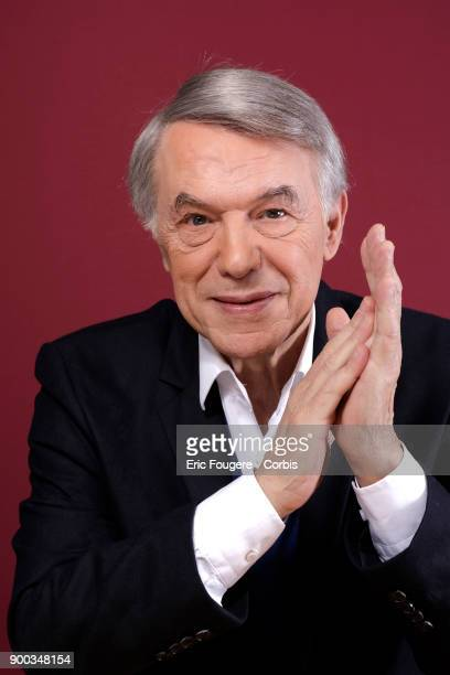 Singer Salvatore Adamo poses during a portrait session in Paris, France on .