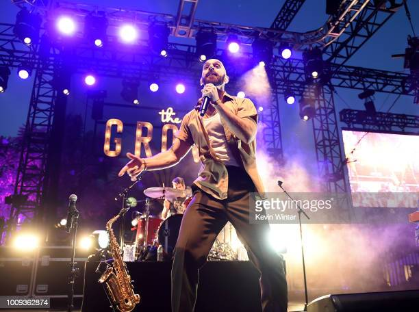 Singer Sam Harris of the X Ambassadors performs at The Grove's 2018 Summer Concert Series presented by Citi at the Grove on August 1 2018 in Los...