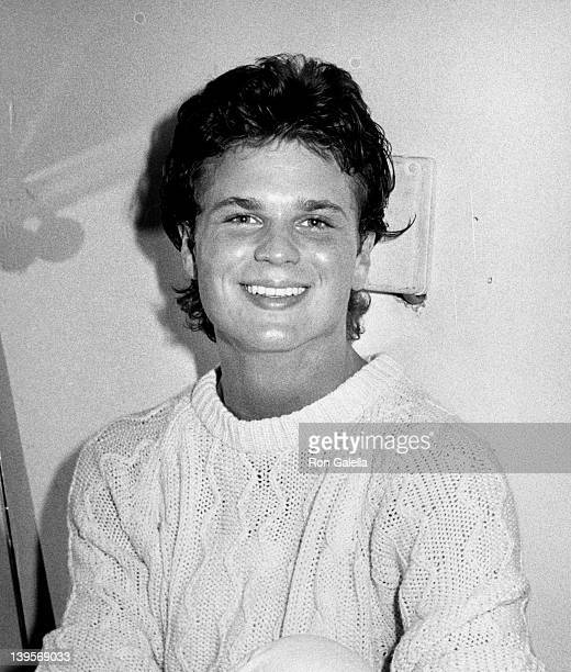 Singer Sam Harris sighted backstage after his performance on April 21 1982 at the Backlot in Hollywood California