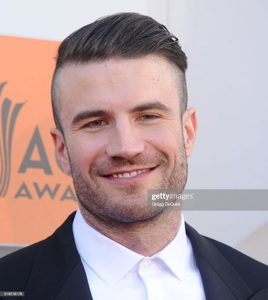 Singer Sam Hunt arrives at the 51st Academy Of Country Music Awards at MGM Grand Garden Arena on April 3, 2016 in Las Vegas, Nevada.