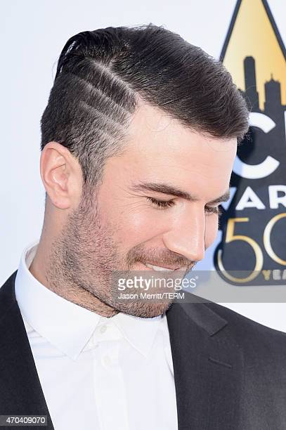 Singer Sam Hunt attends the 50th Academy of Country Music Awards at ATT Stadium on April 19 2015 in Arlington Texas