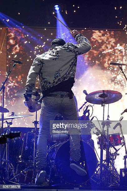 Singer Sam Hunt performs onstage during the 2016 iHeartCountry Festival at The Frank Erwin Center on April 30 2016 in Austin Texas