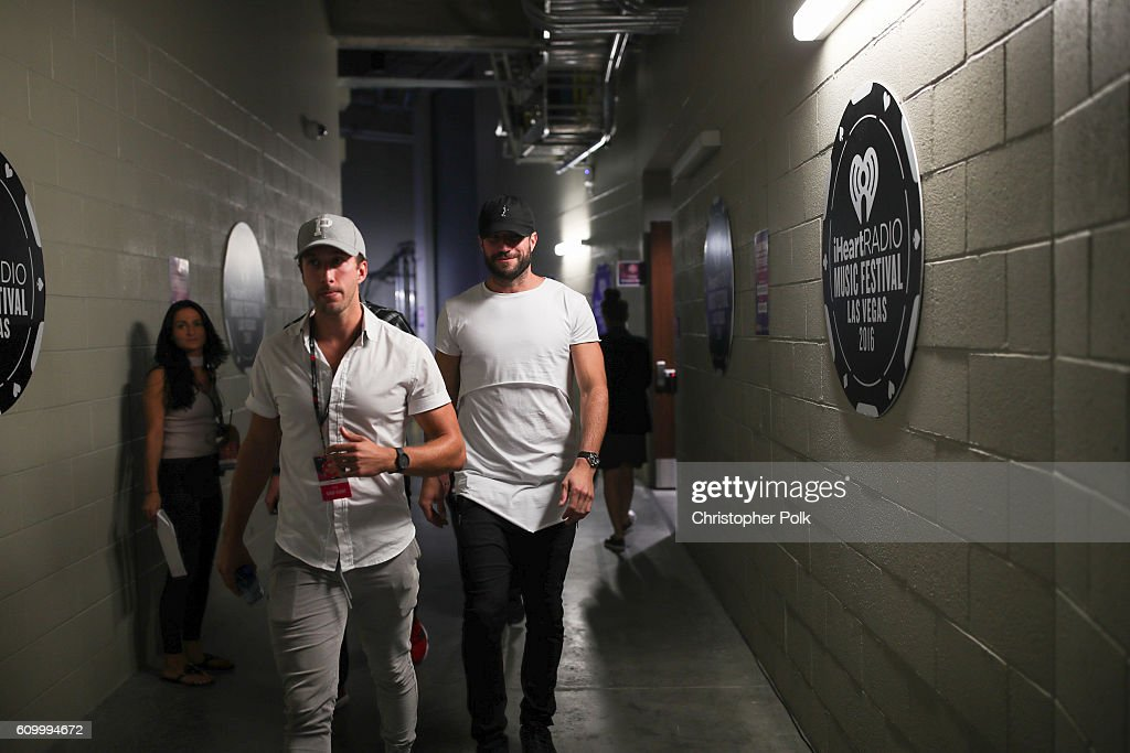 2016 iHeartRadio Music Festival - Night 1 - Backstage : News Photo
