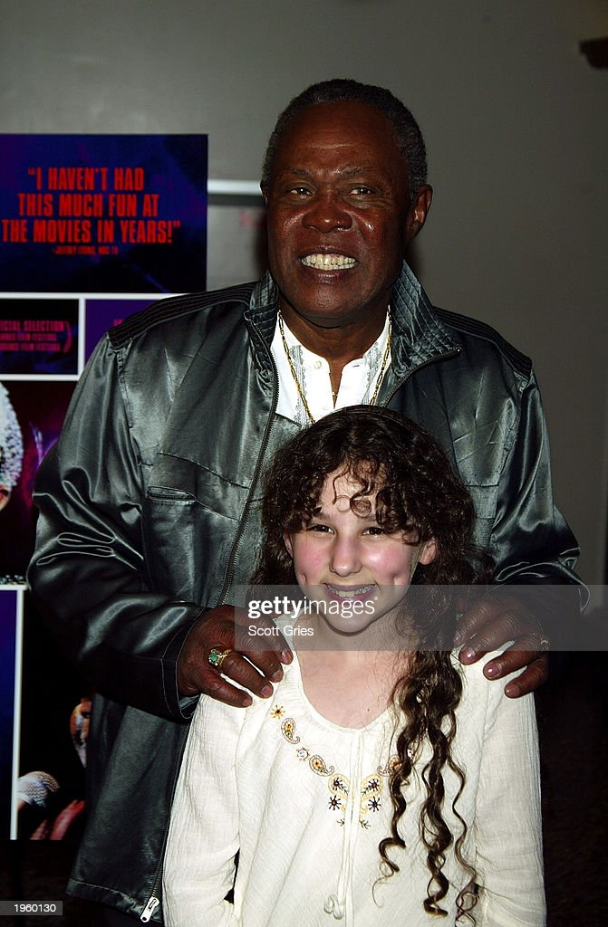 Singer Sam Moore and actress Hallie Eisenberg attend the New