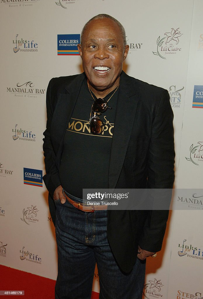 Singer Sam Moore arrives at the 2008 Lili Claire Foundations Benefit Concert at Mandalay Bay Resort & Casino Events Center on April 26, 2008 in Las Vegas, Nevada.