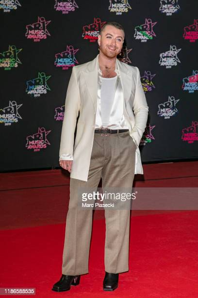 Singer Sam Smith attends the 21st NRJ Music Awards At Palais des Festivals on November 09, 2019 in Cannes, France.