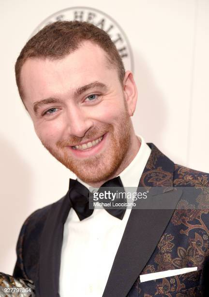 Singer Sam Smith attends the red carpet arrivals for the 'Raise Your Voice' concert honoring Julie Andrews at Alice Tully Hall Lincoln Center on...