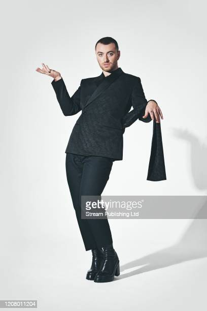 Singer Sam Smith is photographed for Attitude magazine on September 10 2019 in London England