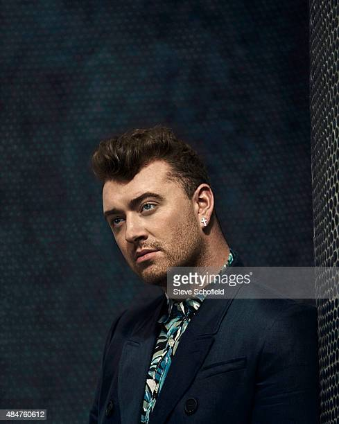 Singer Sam Smith is photographed for ES magazine on January 24 2015 in Los Angeles California