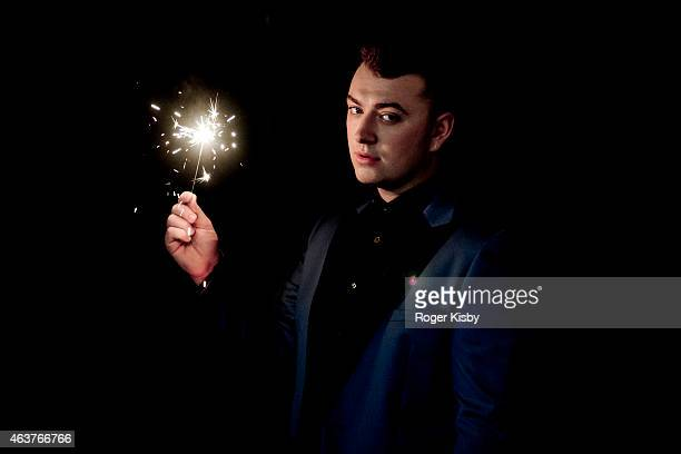 Singer Sam Smith is photographed for iHeart Radio on June 11 2014 in New York City