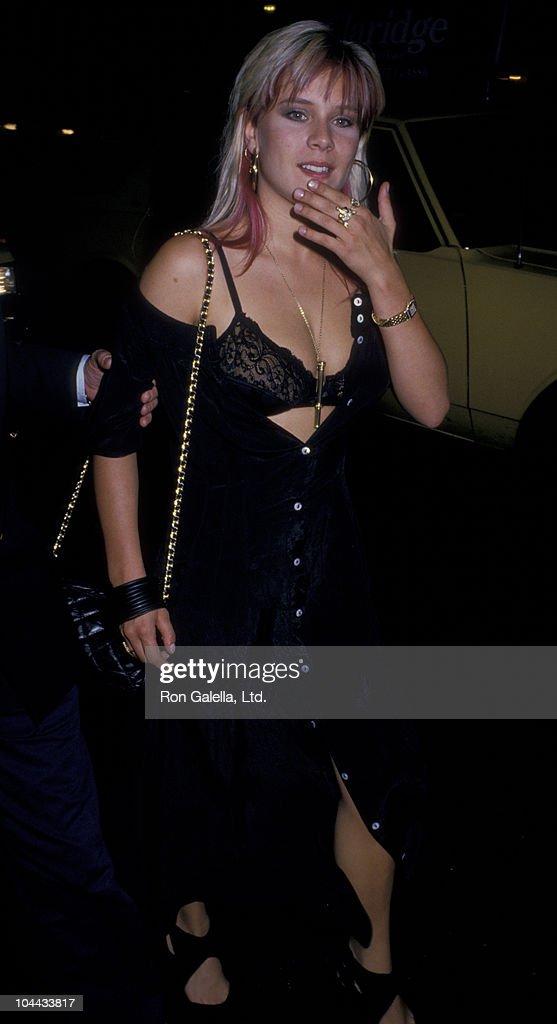 Samantha Fox Sighted at Club MK : News Photo