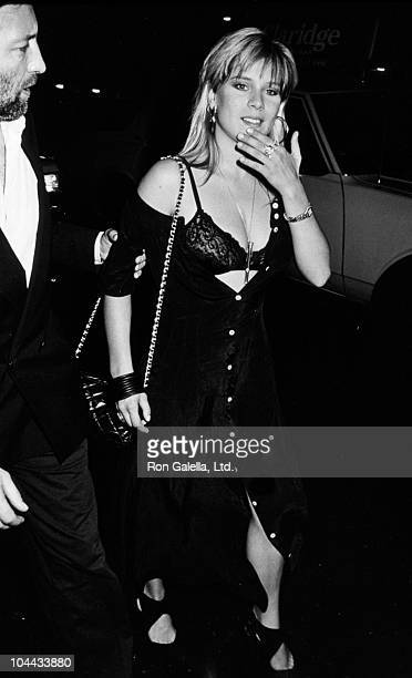 Singer Samantha Fox sighted on June 23 1988 at Club MK in New York City