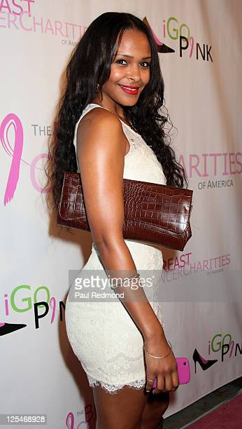 Singer Samantha Mumba arrives at The Breast Cancer Of America Charities Fashion Show And Fundraiser on October 13 2010 in Los Angeles California