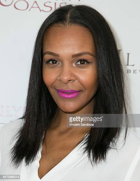 Singer Samantha Mumba attends the Heaven and Earth Oasis Charity fundraiser at Il Cielo on October 11 2014 in Beverly Hills California